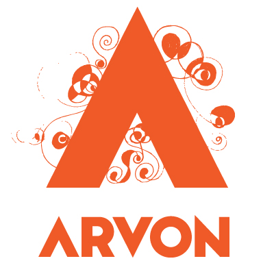 Arvon orange logo